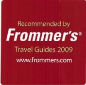 Recommended by Frommer's Travel Guides 2009